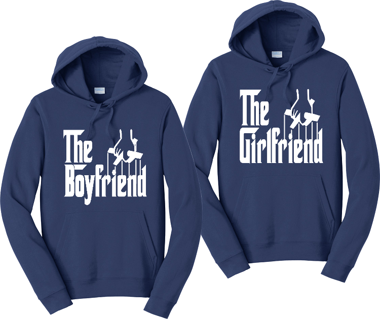 The Girlfriend And The Boyfriend Couples Hoodies Matching Sweatshirts