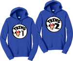 Thing 1,2,3,4 Minnie Face Couples Hoodies Matching Sweatshirts