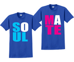 Soul Mate Couples Matching His and Hers T-Shirts