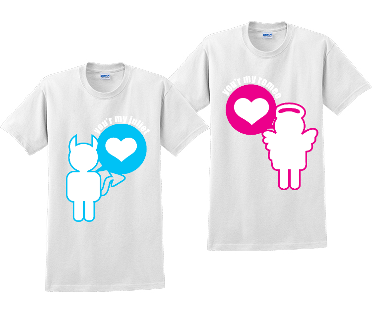 You're My Juliet and You're My Romeo Couples Matching T-Shirts