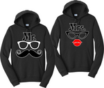 Mr. And Mrs. Couples Hoodies Matching Sweatshirts