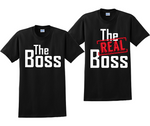 The Boss And The Real Boss Couples Matching T-Shirts