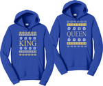 King And Queen Couples Hoodies Matching Sweatshirts