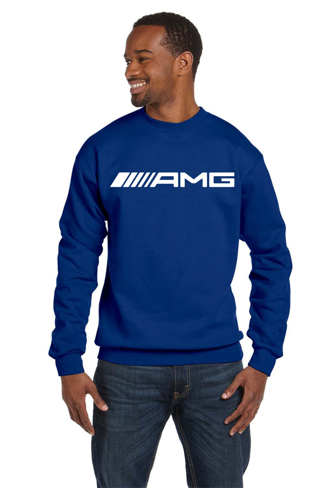 AMG Crew Neck Mercedes Benz BMW Super Race Cars Automotive Sweatshirt