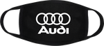 Audi Quattro German Cars Face Masks