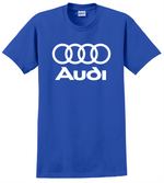 Audi T Shirt Racing Cars Dope German JDM A4 A3 Unisex Tee Shirts