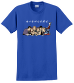 Avengers T Shirt Super Hero Marvel Iron Man Thor End Game Tee Shirts