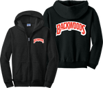 Backwoods Zip Up Hoodie Back Woods Cigarrillos Khalifa Stoner 420 Zipper Sweatshirt