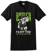 Brolly's GYM T Shirt Super Brolly VS Goku Dragon Ball Z Anime Unisex Tee Shirts