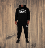 Chevrolet Sweatsuit Chevy Unisex Hoodie Jogger Pullover Sweatshirt Tracksuit