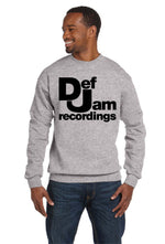Def Jam Recordings Crew Neck XO Kanye NYC Music RAP Hip Hop Sweatshirt