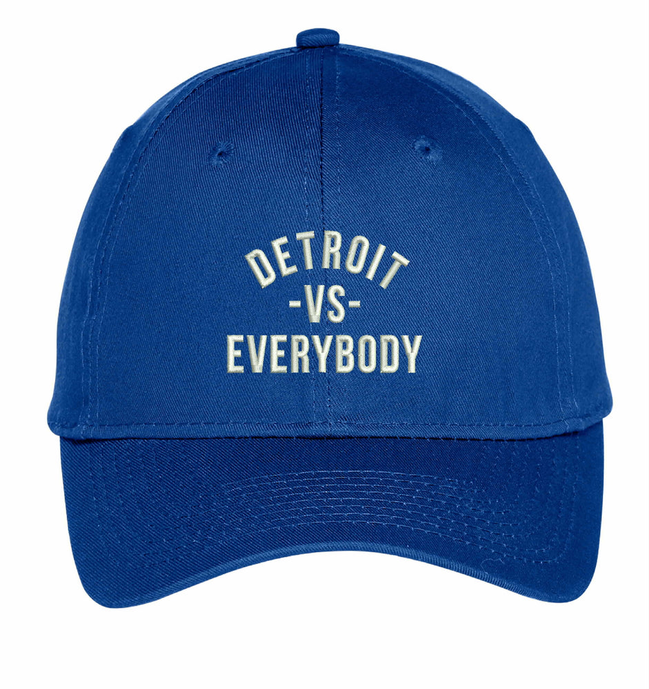 Detroit VS Everybody Embroidery Hat Custom Embroidered Adjustable Hats