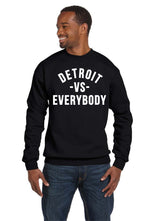 Detroit VS Everybody Crew Neck Eminem Recovery No Love RAP Music Sweatshirt