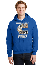 Cummins Hoodie Dodge Makes it Cummins Shakes it Pullover Sweatshirt