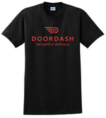 Door Dash T Shirt DoorDash Delightful Delivery Unisex Tee Shirts