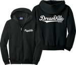 Dreamville Zip Up Hoodie J Cole KOD Tour TDE Records Music Zipper Sweatshirt