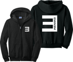 Eminem Zip Up Hoodie Detroit Dre D12 Shady Records Zipper Sweatshirt