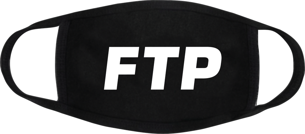 FTP Fuc The Police BLK Face Masks