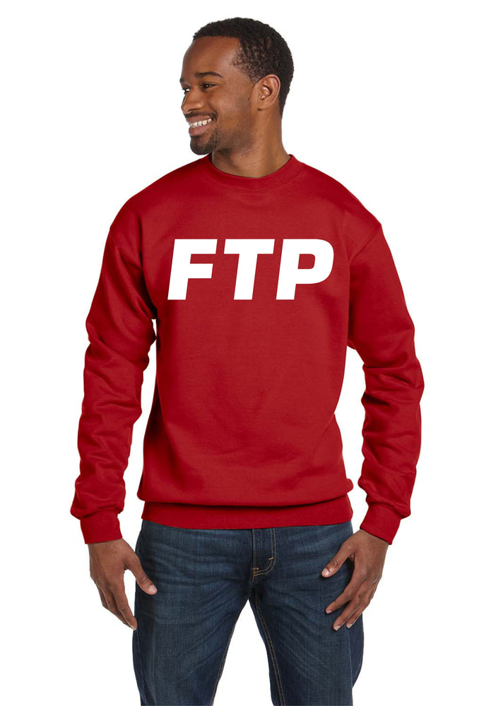 FTP Crew Neck Fuck The Police Planet Suicide Boys Music Sweatshirt