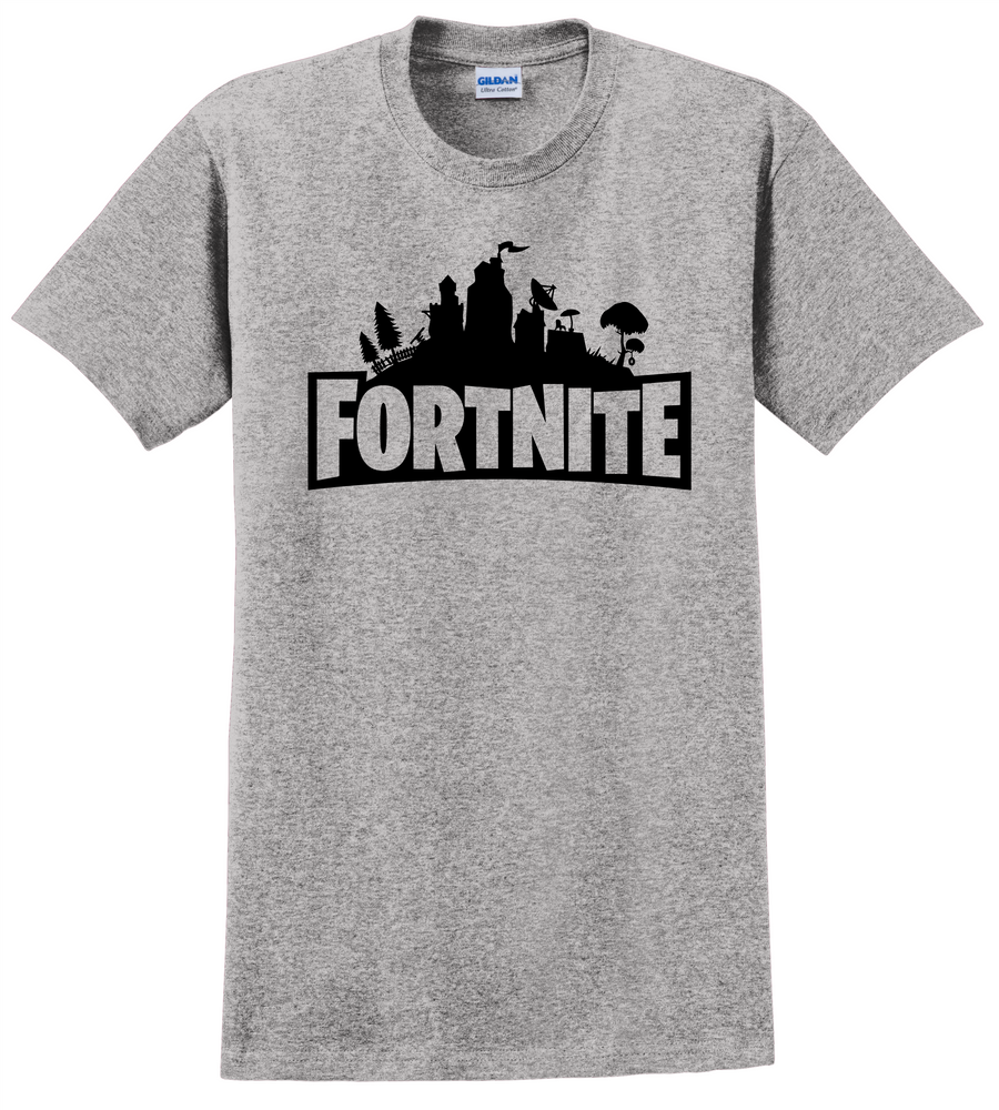 Fortnite T Shirt Video Games COD Xbox Play Station Unisex Tee Shirts