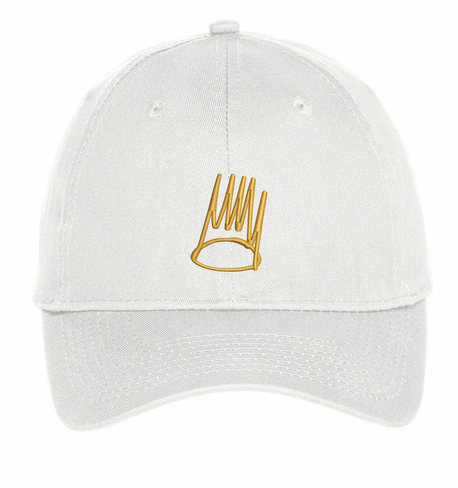 J Cole Gold Crown Dreamville Records Embroidery Hat Embroidered Adjustable Hats