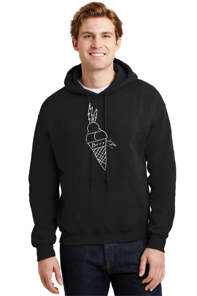 Gucci Mane Hoodie Ice Cream Cone Brrr TRAP RAP Music Sweatshirt