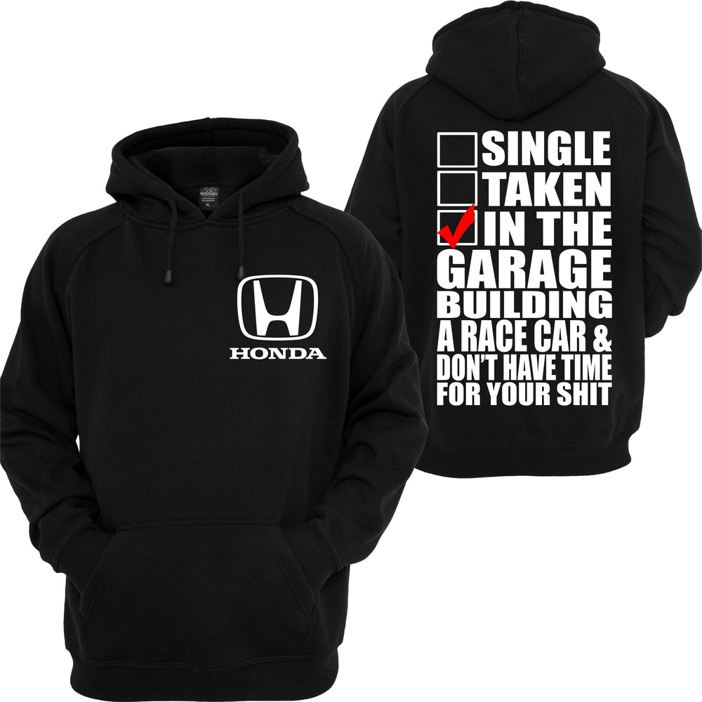 Honda Racing Hoodie ATV Civic CBR Motorsport Racing JDM Turbo Cars Sweatshirt