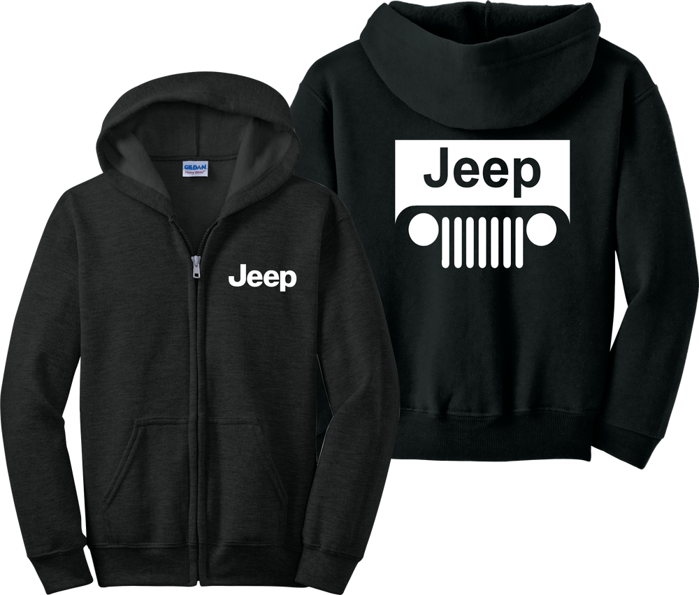 Jeep Zip Up Hoodie Motocross Wrangler Cherokee Cars Country Zipper Sweatshirt