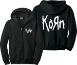 Korn Zip Up Hoodie Metal Rock Nirvana Slipknot Misfits Zipper Sweatshirt