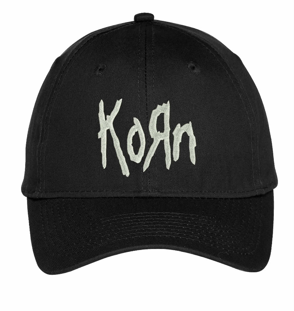 Korn Rock Metal Music Bands Embroidery Hat Embroidered Adjustable Hats