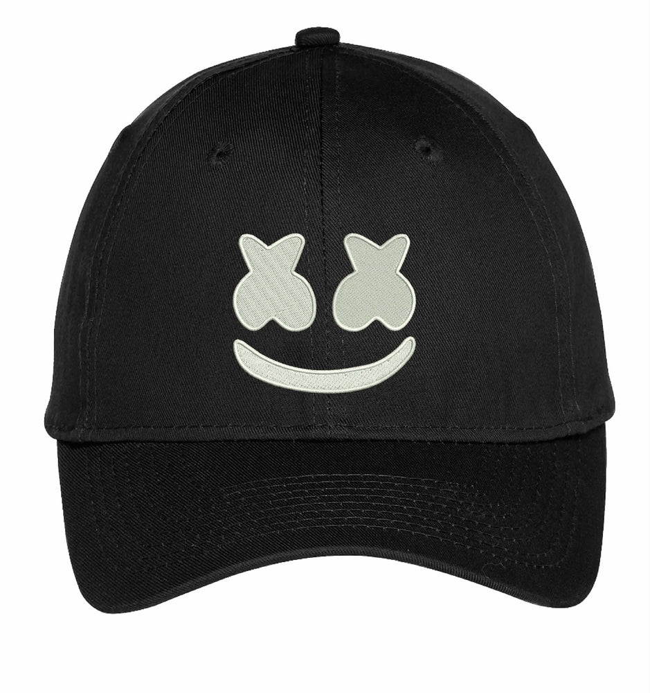 Marshmello DJ EDM House Embroidery Hat Embroidered Adjustable Hats
