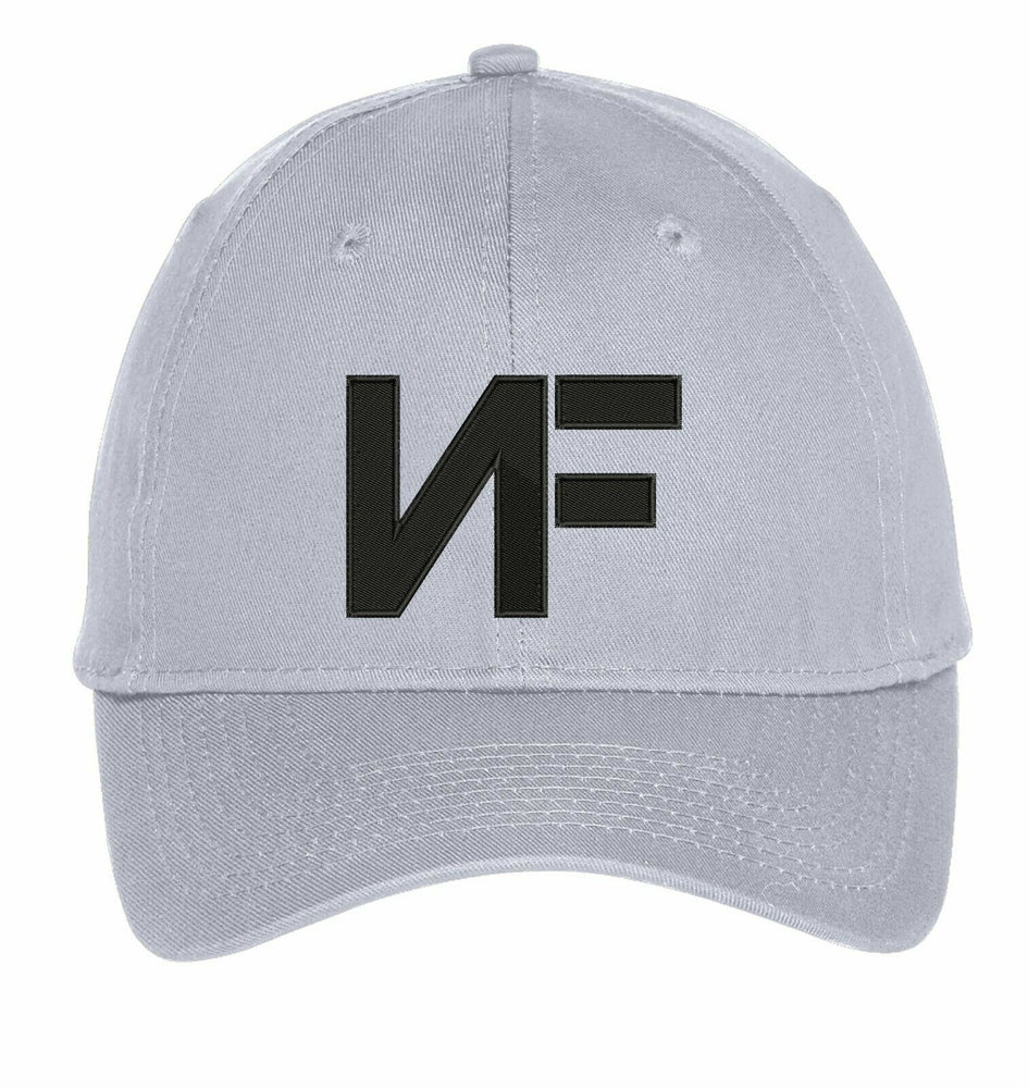 NF Rapper Nathan John Music Embroidery Hat Embroidered Adjustable Hats