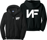 NF Zip Up Hoodie Nathan John Feuerstein Wake Up Music Zipper Sweatshirt