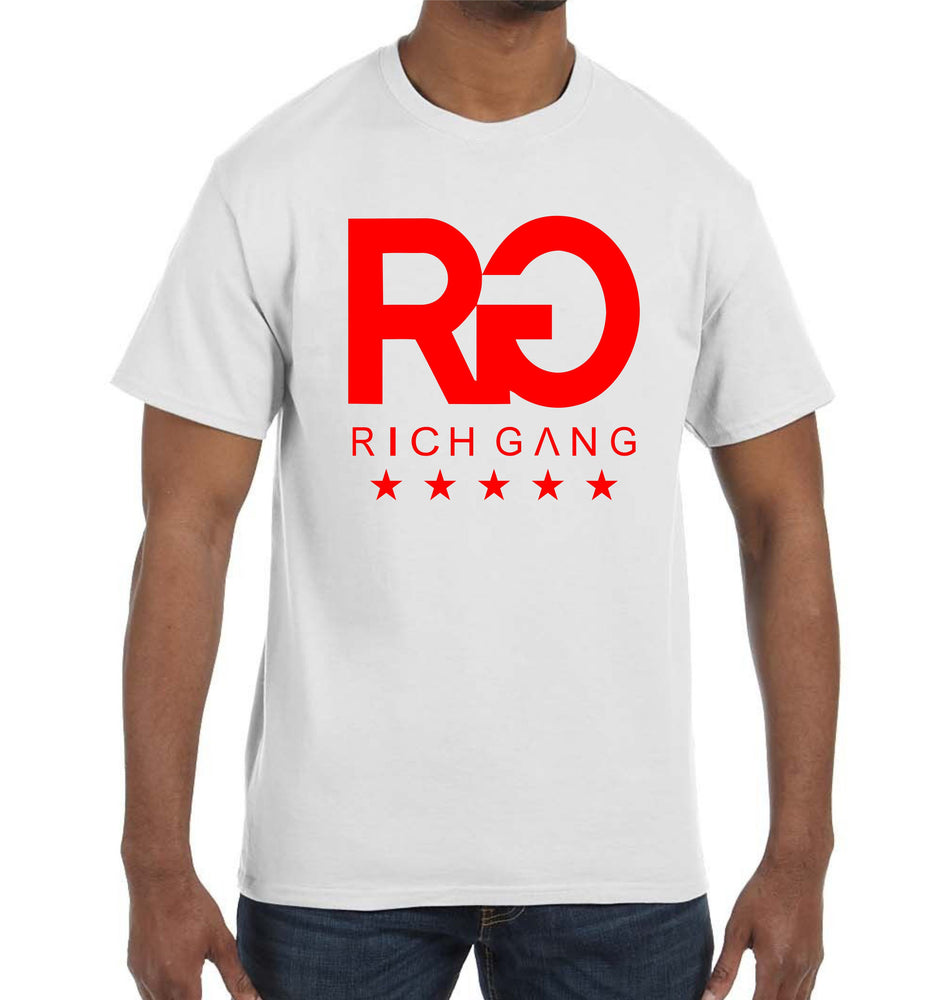 Rich Gang T-Shirt YMCMB OVOXO Hip Hop RAP Music Hustle Gang TGOD Coke Boys Shirt