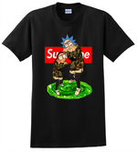 Rick and Morty T Shirt Supreme Cartoon Adult Swim  TV Show Tee Shirts