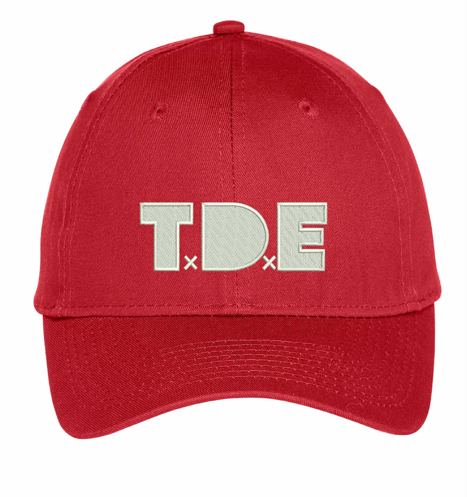 TDE DAMN Top Dawg Entertainment Embroidery Hat Embroidered Adjustable Hats