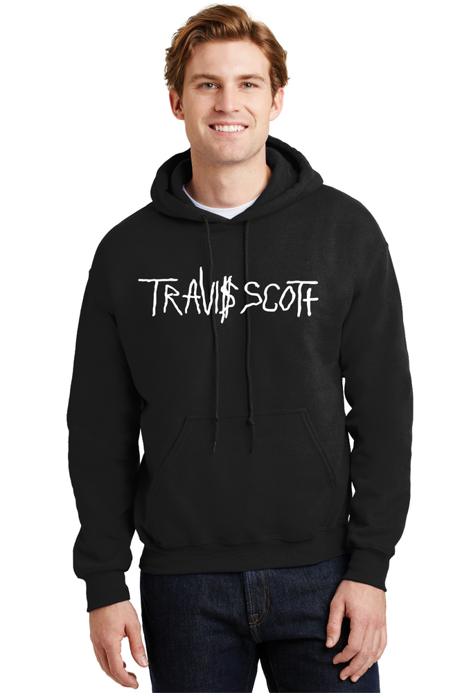 Travis Scott Hoodie La Flame Rodeo Happy Face RAP Music Sweatshirt