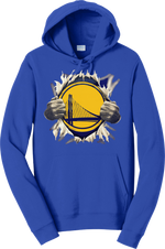 Warriors Custom Pullover Hoodie San Francisco Golden State Curry 30 Hooded Sweatshirt