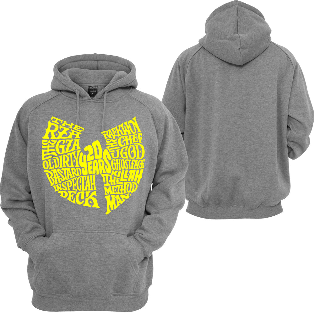 Wu Tang Clan Hooded Sweatshirt Classic Hip Hop RAP Music Savage XO RZA Hoodie