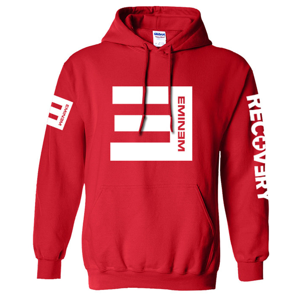 Eminem Hoodie No Love Recovery Detroit RAP Music Sweatshirt