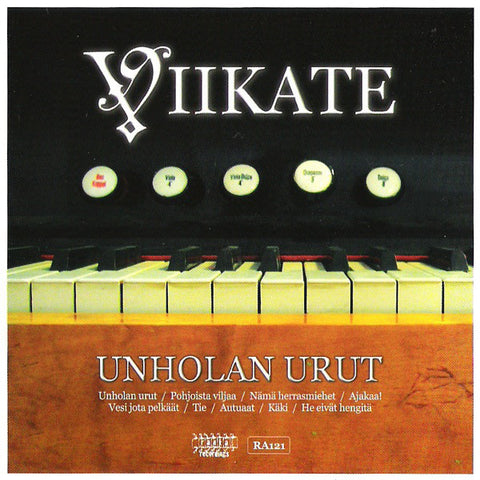 Unholan urut - CD | Viikate | Longplay Music