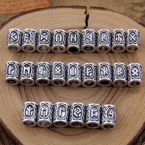 Vikings Runes Charms Beads - OlympBoss Accessoires