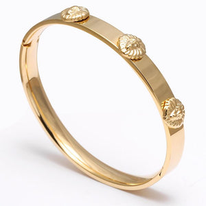Artemis Bangle 316L Stainless Steel / 24K Gold plated - OlympBoss Bracelet