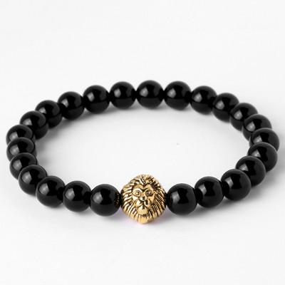 Hercules Lion with Crown Bracelet - OlympBoss Bracelet