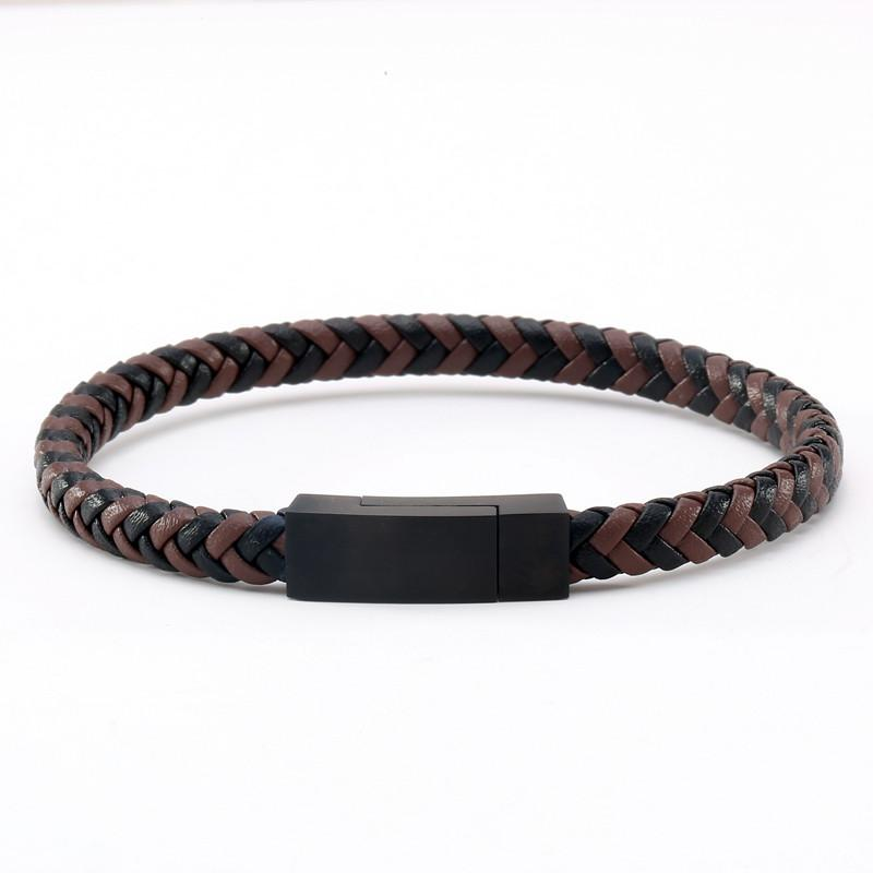 Sparta Leather Bracelet - OlympBoss Bracelet