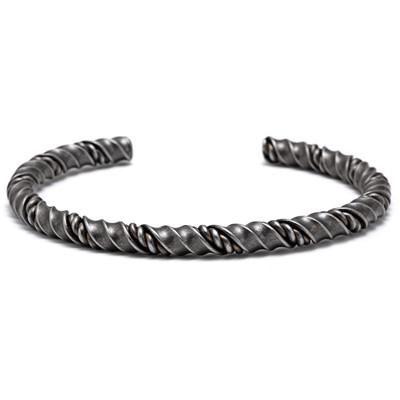 Twisted Bangles Stainless Steel - OlympBoss Bracelet