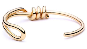 Winding Knot Bangle - OlympBoss Bracelet