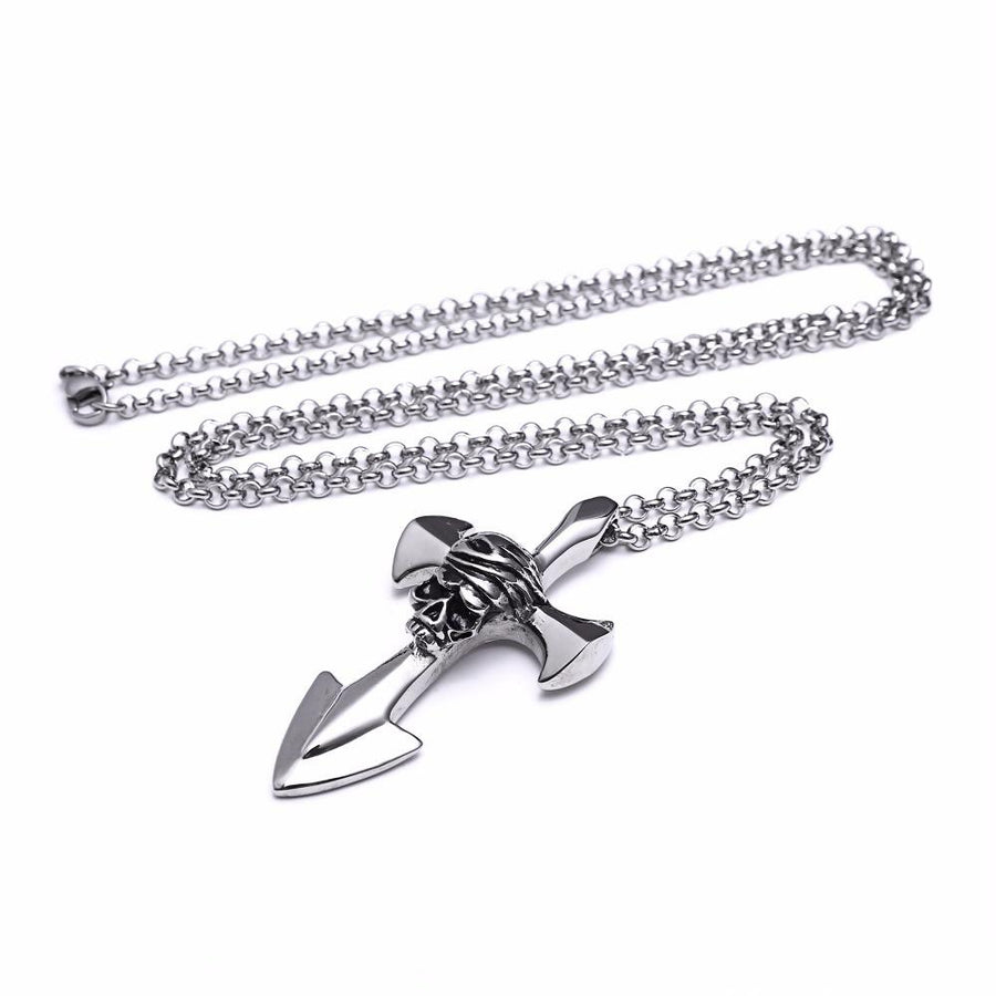 Pirates Anchor Necklace - OlympBoss Necklace