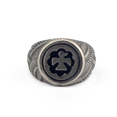 Sun Eagle Totem Ring - OlympBoss Rings