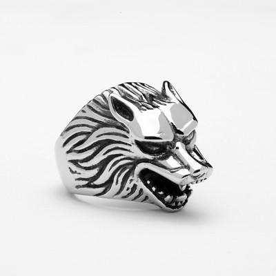 Wolf Ring - OlympBoss Rings